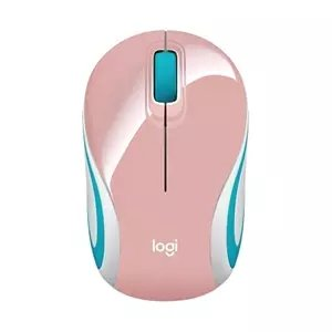Mouse Wireless Logitech M187 Rosa