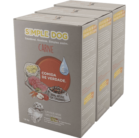 Combo Simple Dog Carne 5,4 kg