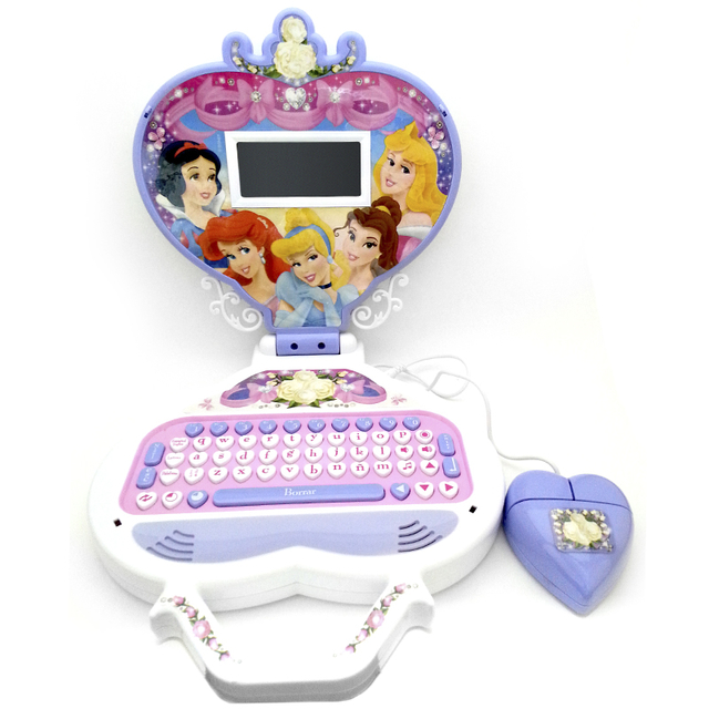 Laptop Corazon Princesas Bilingue