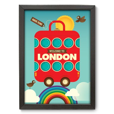 Poster Decorativo - London - 001pst