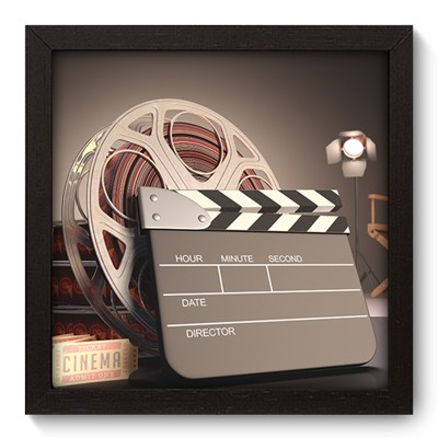 Quadro Decorativo - Movies - 001qdhp
