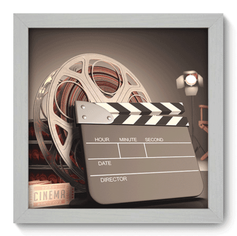 Quadro Decorativo - Movies - 001qdhb