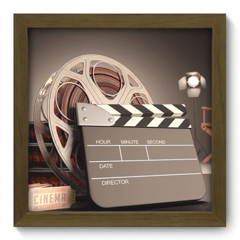 Quadro Decorativo - Movies - 001qdhm