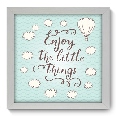 Quadro Decorativo - Enjoy - 001qdrb