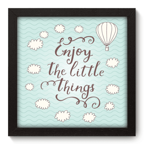 Quadro Decorativo - Enjoy - 001qdrp