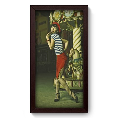 Quadro Decorativo - Pin-up Girl - 001qdvp