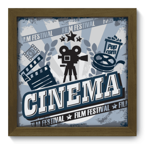 Quadro Decorativo - Film Festival - 002qdhm