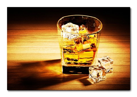 Placa Decorativa - Whisky - 0074plmk