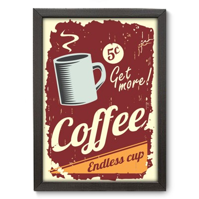 Poster Decorativo - Coffee - 007pst