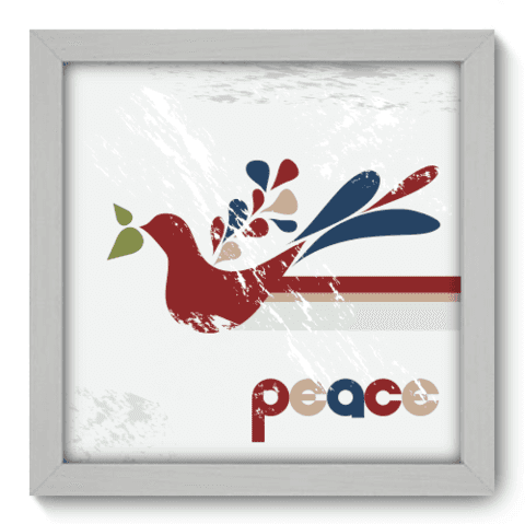 Quadro Decorativo - Peace - 007qddb