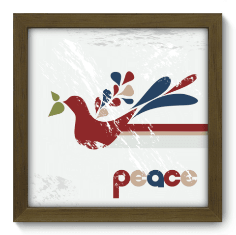Quadro Decorativo - Peace - 007qddm