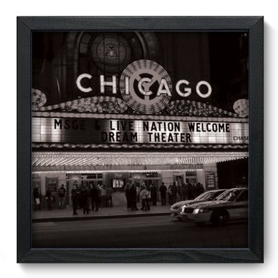Quadro Decorativo - Chicago - 007qdhp