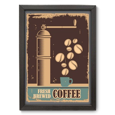 Poster Decorativo - Fresh Coffee - 008pst