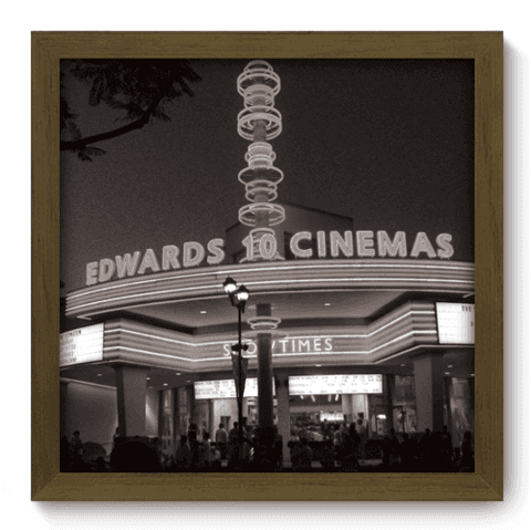 Quadro Decorativo - Cinemas - 008qdhm