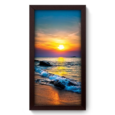 Quadro Decorativo - Pôr-do-Sol - 008qdpp
