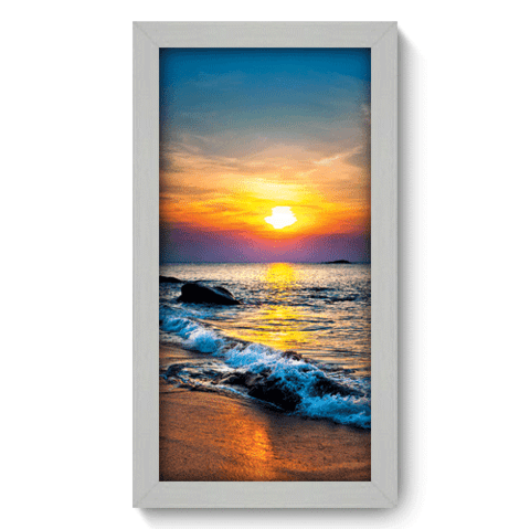 Quadro Decorativo - Pôr-do-Sol - 008qdpb