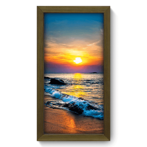 Quadro Decorativo - Pôr-do-Sol - 008qdpm
