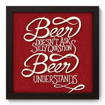 Quadro Decorativo - Beer - 008qdrp