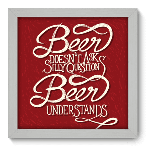 Quadro Decorativo - Beer - 008qdrb