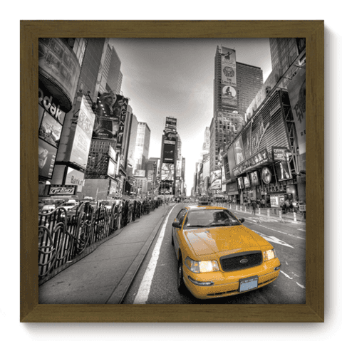 Quadro Decorativo - New York - 009qdmm