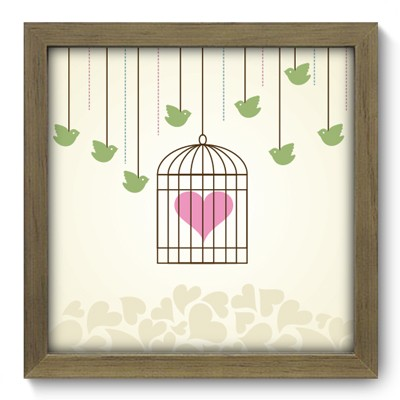 Quadro Decorativo - In Love - 009qdom