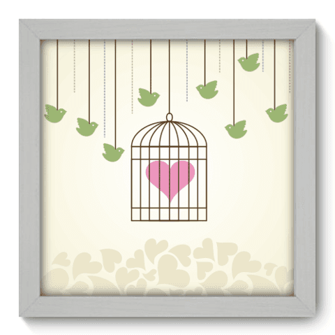 Quadro Decorativo - In Love - 009qdob
