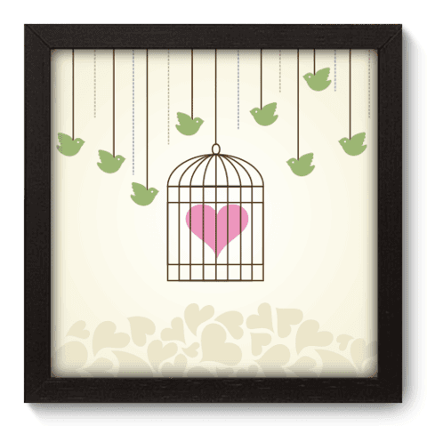 Quadro Decorativo - In Love - 009qdop
