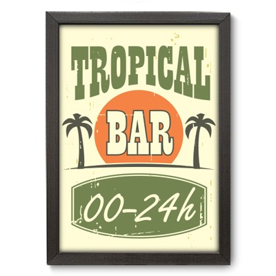 Poster Decorativo - Tropical - 010pst