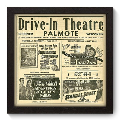 Quadro Decorativo - Theatre - 010qdhp