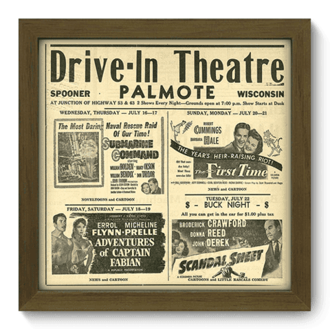 Quadro Decorativo - Theatre - 010qdhm