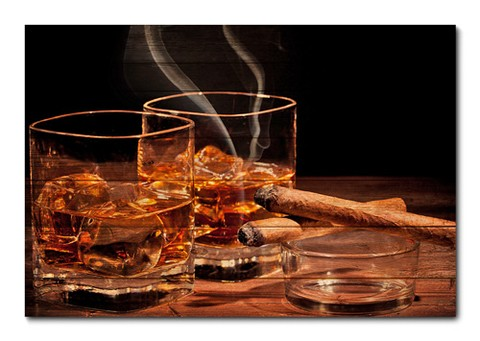 Placa Decorativa - Whisky  - 0115plmk
