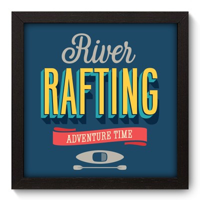Quadro Decorativo - Rafting - 011qdep