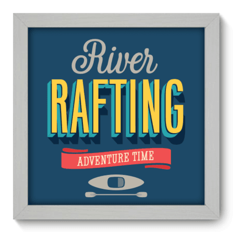 Quadro Decorativo - Rafting - 011qdeb