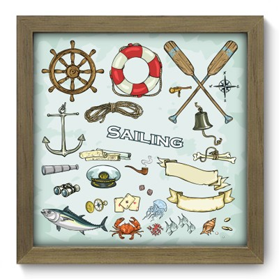 Quadro Decorativo - Sailing - 012qdkm