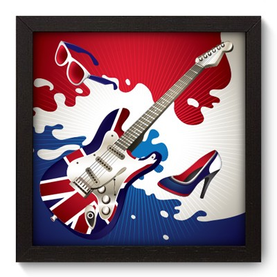 Quadro Decorativo - British - 014qdgp