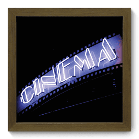 Quadro Decorativo - Cinema - 015qdhm