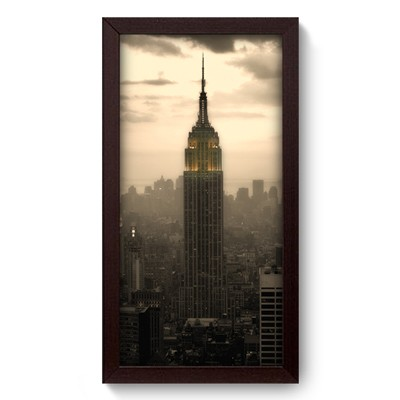Quadro Decorativo - Empire State - 016qdmp