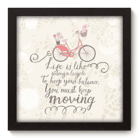 Quadro Decorativo - Bike - 016qdrp