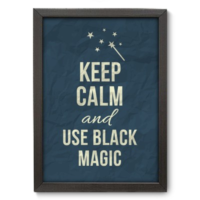 Poster Decorativo - Black Magic - 018pst