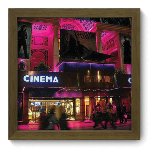 Quadro Decorativo - Cinema - 019qdhm