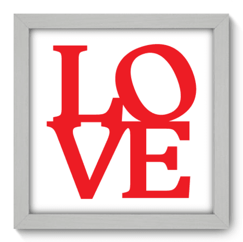 Quadro Decorativo - Love - 019qdob