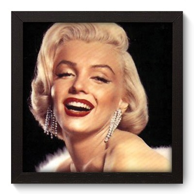 Quadro Decorativo - Marilyn Monroe - 020qdhp