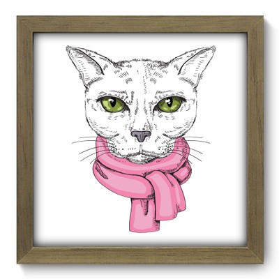 Quadro Decorativo - Cat - 021qdsm