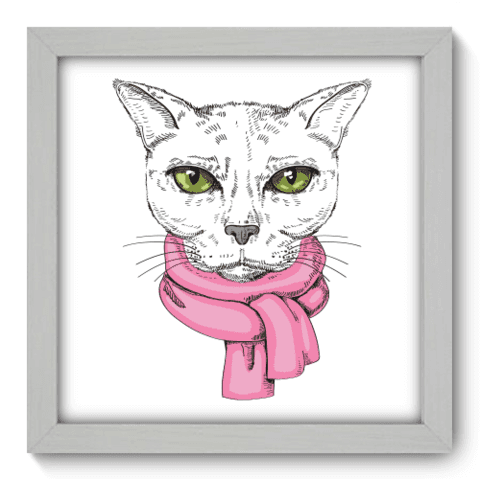 Quadro Decorativo - Cat - 021qdsb