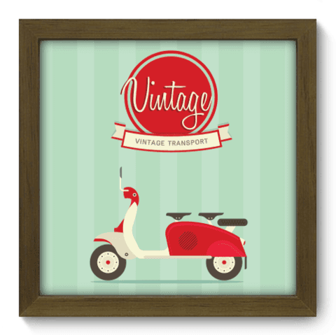 Quadro Decorativo - Transport - 021qdvm
