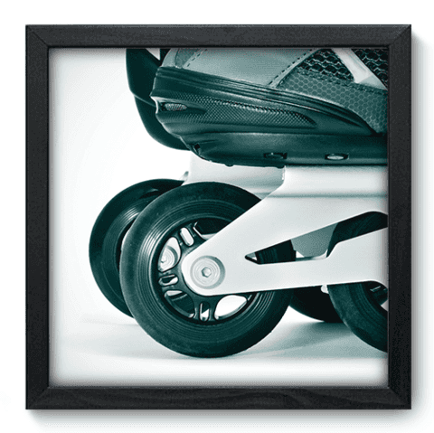 Quadro Decorativo - Patins - 022qdep