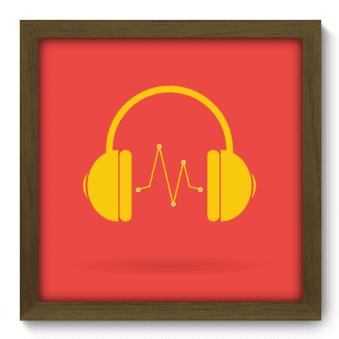 Quadro Decorativo - Beat - 022qdgm