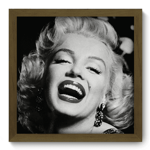 Quadro Decorativo - Marilyn Monroe - 022qdhm