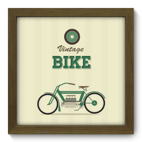 Quadro Decorativo - Bike - 022qdvm