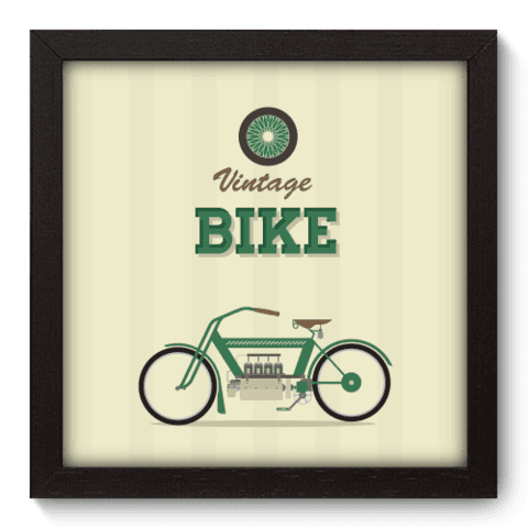 Quadro Decorativo - Bike - 022qdvp